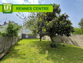 Maison Rennes quartier Anatole France 5 pièces de 86 m2 exposition traversante Est – Ouest