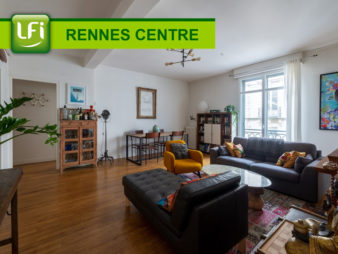 Appartement Rennes Centre-Ville 4 pièces 92.61 m2 avec cave et grenier à deux pas de la Mairie !