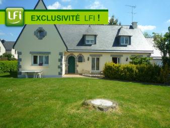 Maison divisée en 4 appartements à vendre à L'HERMITAGE – 15 min de Rennes