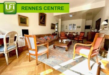 Appartement Rennes Centre Ville, Les Halles, 4 pièces, 112.33 m2, terrasse et cave. Rare sur le quartier - LFI-CENTRE-A-8295