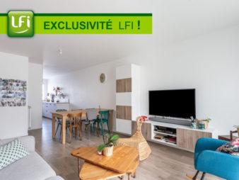 Appartement Rennes Centre ville – Vélodrome – Baud / Chardonnet 4 pièces, 80.90 m2, parking et balcon – construction de 2018