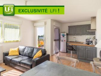 Appartement type 3 de 58.15 m² – Vezin-le-Coquet – 5 minutes de Rennes