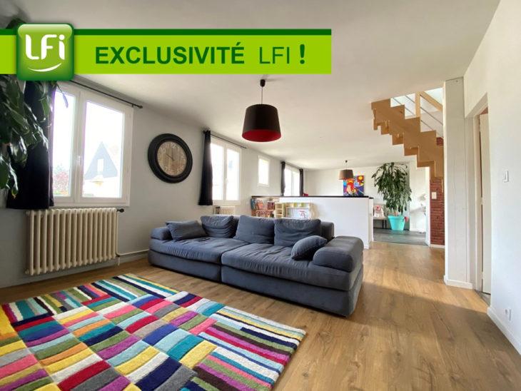Maison indépendante à vendre à Mordelles – 4 chambres – 114,71 m² habitables et 136 m² au sol – 15 min de Rennes - LFI-MOR-K-7848
