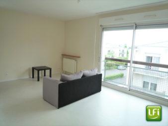 Appartement de type 2 à vendre – 47.42 m² – Pacé – 10 min de Rennes