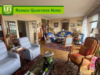 Appartement Type 5 rue de Fougères, à vendre