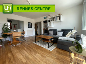 EXCLUSIVITE AGENCE ! Appartement Rennes Centre-ville – Bourg l'évêque – 3 pièces de 60.28 m2