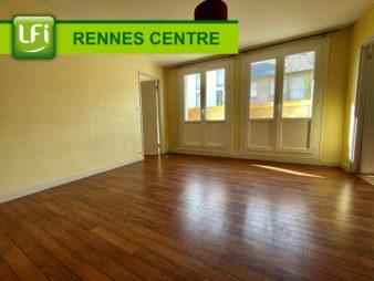 Appartement Rennes Centre-ville – Saint-Hélier – Gare – 4 pièces 62 m2 avec cave