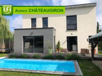 Maison aux portes de Rennes