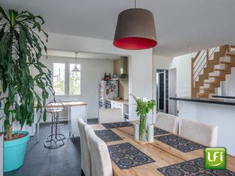 Maison indépendante à vendre à Mordelles – 4 chambres – 114,71 m² habitables et 136 m² au sol – 15 min de Rennes