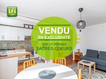 Appartement Rennes 3 pièce(s) 52.74 m2