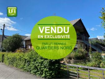 Maison de type 4, Rennes Motte Brulon