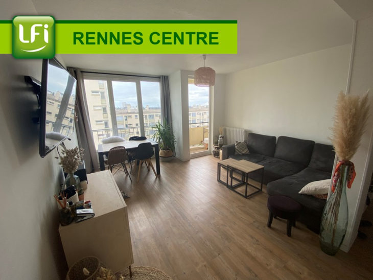Appartement Rennes centre Ville, Quartier du Vélodrome, 3 pièces de 56.26 m2 - LFI-CENTRE-A-7856