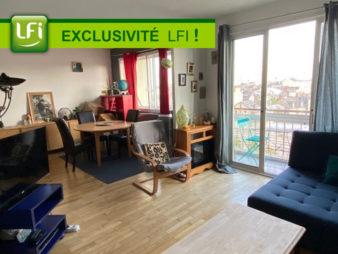 EXCLUSIVITE AGENCE ! Appartement Rennes Centre ville, Proche Gare 4 pièces, 79 m2, cave et grenier