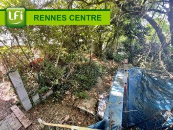 Maison Rennes Centre ville, Anatole France, Bourg l'Evêque, 3 pièces 70 m2  – Terrain 176 m²