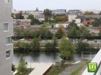 Appartement Rennes Centre ville – Vélodrome – Baud / Chardonnet 4 pièces, 84.85 m² – construction de 2017