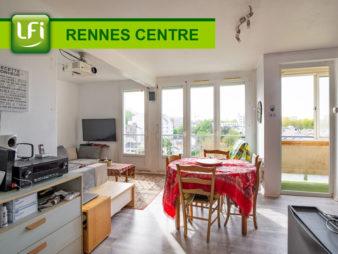Appartement Rennes Centre-ville – Bourg l'évêque – 4 pièces de 63.44 m2