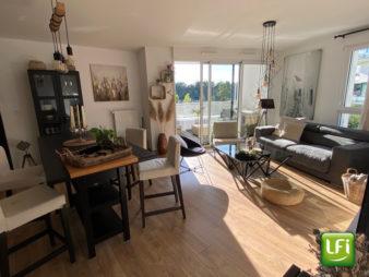 Appartement T3, Rennes Motte Brulon / ZAC Armorique