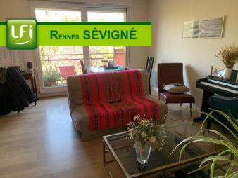 Appartement Rennes 3 pièce(s) 61 m2