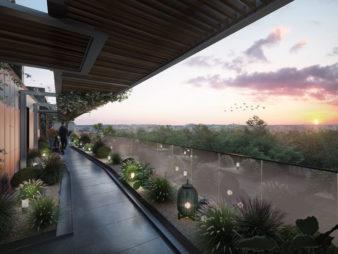 Appartement Rennes Centre-Ville, Rue d'Antrain – 2 pièces 44.64 m2 – Terrasse de 12.65 m² – Parking – Programme Neuf