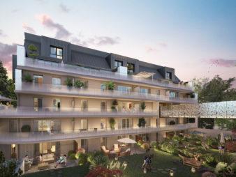 Appartement Rennes Centre-Ville, Rue d'Antrain – 3 pièces 61.26 m2 – Terrasse de 15.33 m² – Parking – Programme Neuf