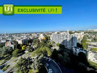 EXCLUSIVITE AGENCE ! Appartement Rennes Centre-ville 2 pièces d'une surface de 40.58 m2 – Cave et stationnement