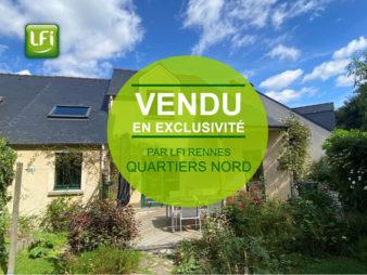 Maison T7 à vendre, Rennes la Bellangerais