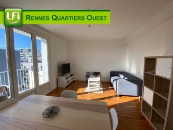 Colocation 4 chambres à louer quartier Cleunay