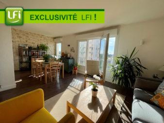 EXCLUSIVITE AGENCE ! Appartement Rennes centre Ville, Quartier du Vélodrome, 4 pièces de 66.75 m2 avec loggia et cave